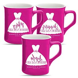 Personalized Bridesmaid Gift, Customized Bride Squad Coffee