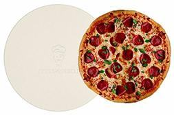 "Lorrenzetti 16"" Premium Pizza Stone for Baking Pizza in an O"