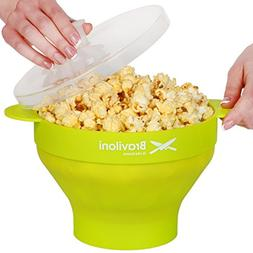 Popcorn Popper - Microwave Popcorn Maker - Collapsible Silic