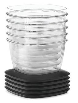 Rubbermaid Premier Food Storage Container, 7 Cup, 5-Pack, Gr