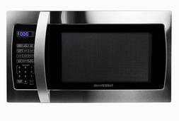 Farberware Pro 1.3 Cu-Ft. Microwave Oven Stainless Steel Bla