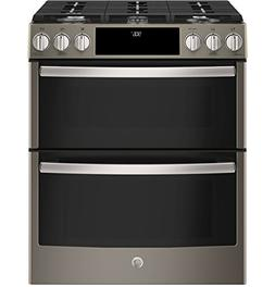 GE Profile PGS960EELES 30 Inch Slide-in Gas Range with Seale
