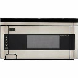 Sharp R-1514 Microwave Oven - 1000W - Stainless Steel