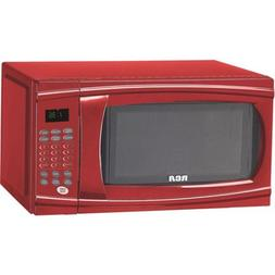 RCA, 1.1 cu ft Microwave, Model:RMW1112-RED/color:Red