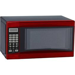 0.7-Cubic Foot Red Touch Pad Control Convenience Cooking Con