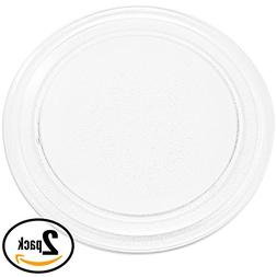 2-Pack Replacement RCA RMW742 Microwave Glass Plate - Compat
