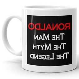 Ronaldo Coffee Mugs - The Man The Myth The Legend - Best Gif