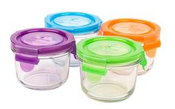 Wean Green Glass Baby Food Storage Containers, Wean Bowl 5.4
