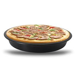 Litetao Hot Sale 6/9 inch Round Pizza Pan Tray Carbon Steel