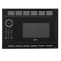 RV Microwave | .9 Cubic Ft Black Microwave with Trim Kit | 9