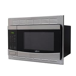 RV Stainless-Steel Microwave 1.0 cu ft. With Trim Package EM