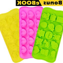 Silicone Chocolate Candy Molds | Jelly Gummy Pudding Ice Ca