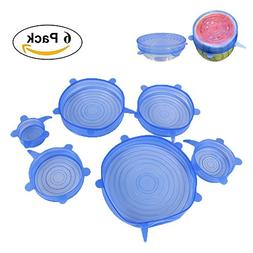 Silicone Lid Kitchen Home Silicone Stretch Lids Durable, Per