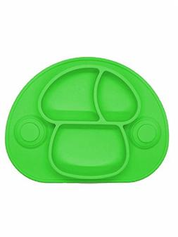 Silicone Suction Baby Placemat Plate for Kids Babies and Tod