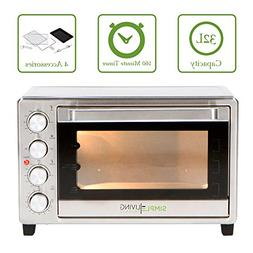 Simple Living Products SL-C32L 32L XL Convection Oven - Coun