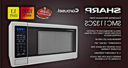 Sharp SMC1132CS Countertop Microwave Oven 1.1 cu ft  WHILE S