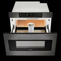 SMD2470AH -SHARP BLACK STAINLESS STEEL MICROWAVE DRAWER OVEN