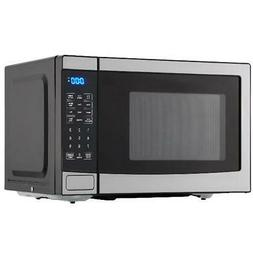 Microwave 0.7 Cu. Ft. 700W with 10 Power Levels Sleek Stainl