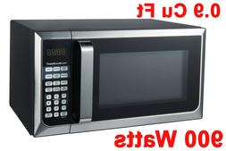 STAINLESS STEEL Hamilton Beach 0.9 cu.ft Microwave Oven 900W