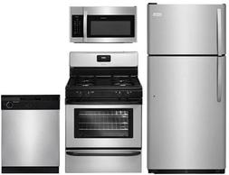 Frigidaire 4-Piece Stainless Steel Builder Package with FFTR