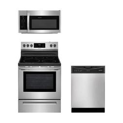 Frigidaire 4-Piece Stainless Steel Package with FGSS2635TD 3