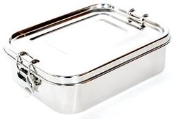 Stainless Steel Lunch Box Food Container by Meal Prep Crew |
