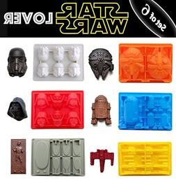 SaSa Design Star War Shaped Mold,Silicone Flexible Molds for