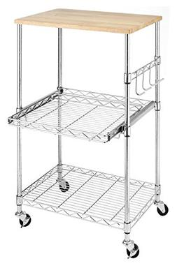 Whitmor 6056-3536 Supreme Microwave Cart