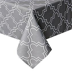 Tablecloth Heavy Weight Kitchen Table Cover Spill-proof Wate