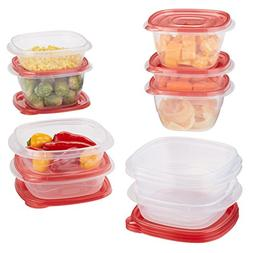 Rubbermaid TakeAlongs Assorted Food Storage Container, 5.2 a