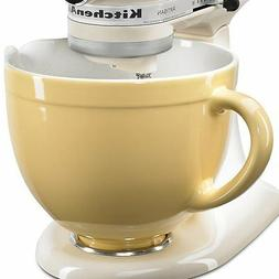 KitchenAid 5-Qt. Tilt-Head Ceramic Bowl - Majestic Yellow