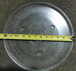 "MICROWAVE OVEN TURNTABLE GLASS TRAY DISH PLATE 12 3/8"" REPLA"
