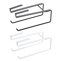 LexBu Under Cabinet Paper Roll Hoder Rack Paper Towel Holder