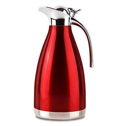 FUNRUI Vacuum Insulated Jug Thermal Carafe Stainless Steel D