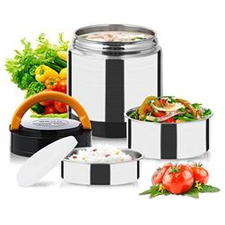 Vacuum Lunch Container Stainless Steel, Food Thermos Lunch B