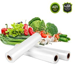 Vacuum Sealer Roll Bags, EIVOTOR 3 Mix Size 5.9''/7.9'