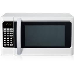 Hamilton Beach 1.1 cu ft Digital White Microwave Oven, Conve
