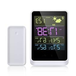 WELQUIC Wireless Weather Forecast Station and Outdoor Remote